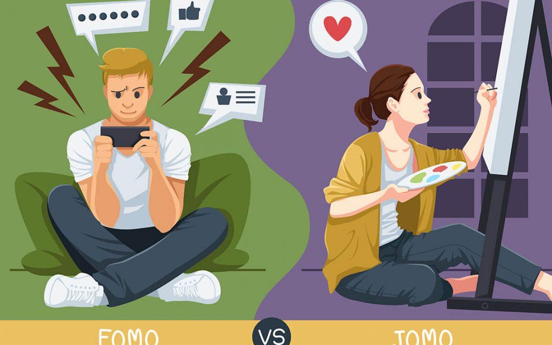 От FOMO към JOMO – навигация за напреднали в социалните мрежи